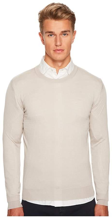 Eleventy Fine Gauge Crew Neck Sweater Men's Sweater