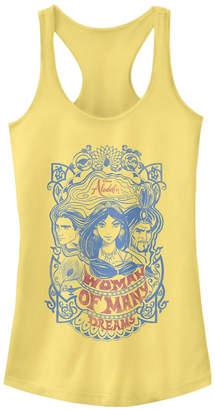 Disney Juniors' Aladdin Vintage-like Aladdin Ideal Racerback Tank Top