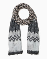 Charming charlie Chevron Open Knit Scarf