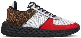 Giuseppe Zanotti Animal Pattern Low-Top Sneakers