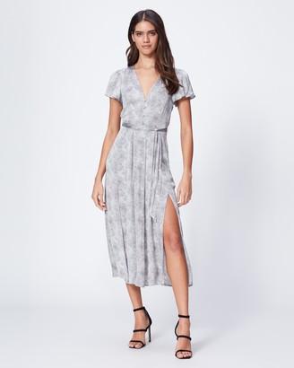 Paige Alayna Dress-Silver