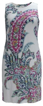 Charter Club Paisley-Print Sleeveless Dress, Created for Macy's