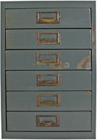 Rejuvenation Rustic Office Stationary Cabinet C1955