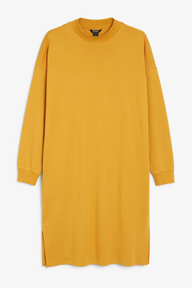 Monki Long sweatshirt dress