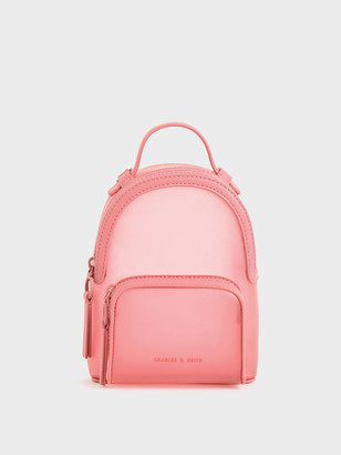 Charles & Keith See-Through Backpack