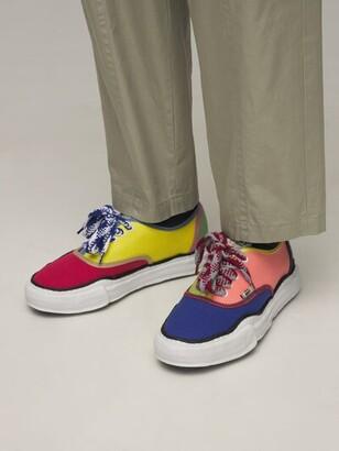 Miharayasuhiro Original Sole Baker Canvas Low Sneakers