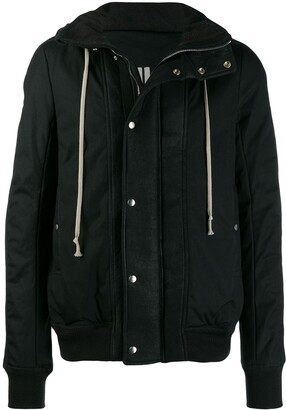 Rick Owens Hooded Casual Jacket