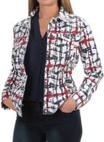 FDJ French Dressing Printed Denim Jacket (For Women)