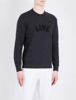 Sandro Love cotton sweatshirt