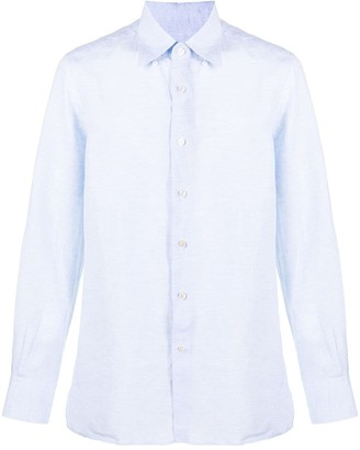 Canali Lightweight Long Sleeve Shirt