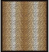 Dynamix Home Zone 7117-502 Ebony 2 Feet by 3 Feet Leopard Area Rug
