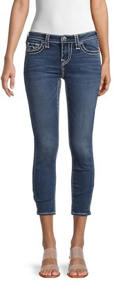 True Religion Halle Big T Cropped Skinny Jeans