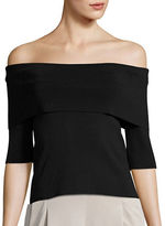 Eliza J Off-the-Shoulder Top