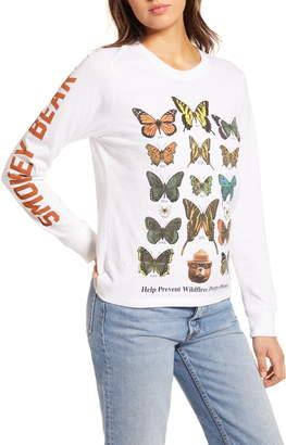 Desert Dreamer Butterfly Graphic Long Sleeve Tee