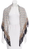 A Peace Treaty Silk Fringe Scarf