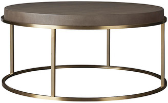 One Kings Lane Desmond Round Coffee Table - Gray