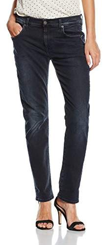 7 For All Mankind Women's RELAXED SKINNY Jeans, Black (Black Smoke), W24/L29 (Manufacturer size: 24)