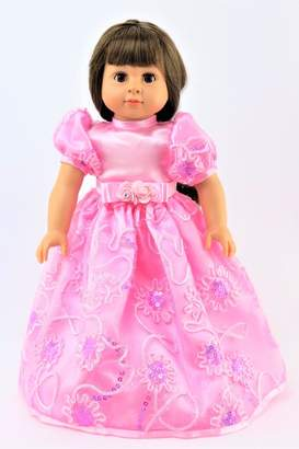Fashion World American Doll Pink Gown
