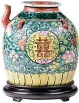 One Kings Lane Vintage Antique Famille Vert Teapot