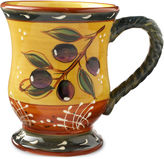 Certified International French Olive Set of 4 Coffee Mugs
