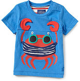 Joules Baby/Little Boys 12 Months-3T Clawsome Crab-Appliqu Top