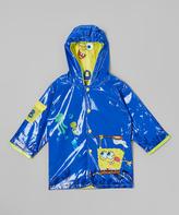 SpongeBob Squarepants Blue Raincoat - Infant Toddler & Boys