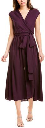 Jason Wu Wrap Bodice Midi Dress