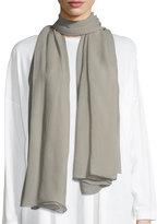 eskandar Large Silk Scarf