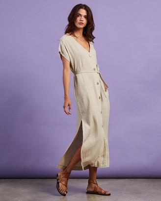 Nude Lucy Rumi Linen Maxi Dress