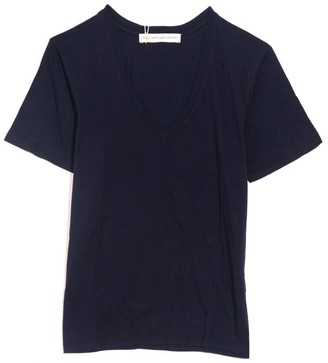 Plays Well With Others Victory V-Neck Tee in Classic Navy
