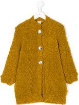 Caffe' D'orzo - Roberta bouclé knit coat - kids - Acrylic/Polyamide/Mohair/Wool - 2 yrs