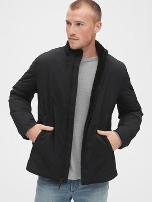Gap Sherpa-Lined Zip Jacket