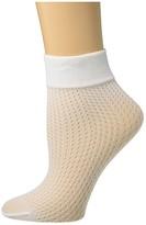 Wolford Lauren Socks (White) Women's Crew Cut Socks Shoes