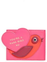 Kate Spade Women's Be Mine Hangtag Card Case - Pink