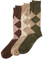 Polo Ralph Lauren Big & Tall Argyle Sock 3-Pack