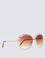 M&S Collection Double Frame Oversized Sunglasses