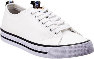 Roberto Cavalli Robert Cavalli Sport Low-Top Leather Sneaker