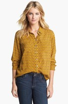 Vince Camuto Two by Chain Print Utility Shirt
