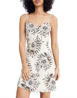 Madewell Button Cami Slip Dress