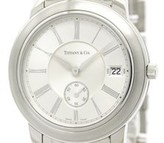 Tiffany & Co. Mark 17042033 Stainless Steel Quartz 37mm Mens Watch