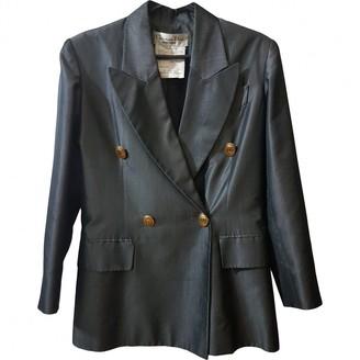 Christian Dior Grey Silk Jackets