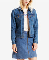 Levi's Orange Tab Denim Trucker Jacket, Levis Select For Macys
