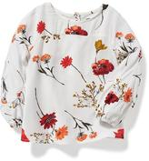 Old Navy Floral-Print Swing Top for Toddler