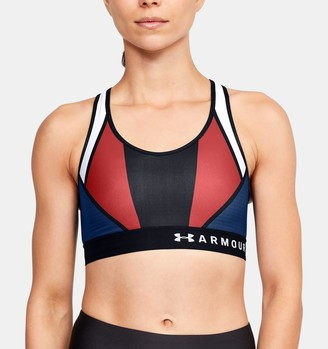 Under Armour Women's Armour Mid Country Pride Sports Bra