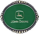 Montana Silversmiths Western Belt Buckle Women John Deer Green A335JDP