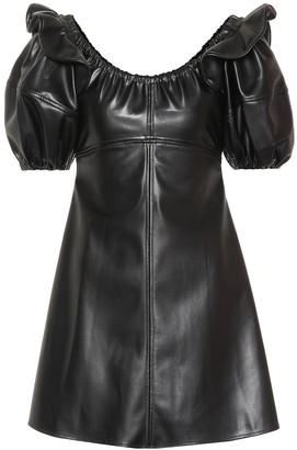 Ellery Valeria puff-sleeve minidress