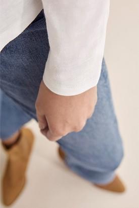 Country Road Long Sleeve Cotton Slub T-Shirt