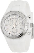 Technomarine Unisex 110030 Cruise Ceramic Chronograph White Dial Watch