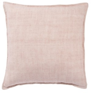 """Jaipur Living Blanche Solid Poly Throw Pillow 22"""""""