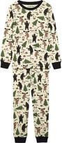 Hatley Lumberjack print cotton pyjamas 4-12 years